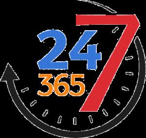 24/7/365 Emergency Response