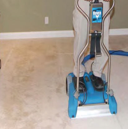 Water Damage Cleanup - Carpet Drying